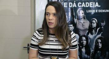 A delegada Bruna Falcão foi responsável pelo inquérito