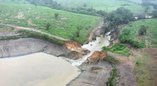Famílias voltam para casa após rompimento de barragem na Bahia