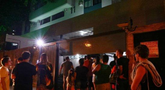 Incêndio atinge apartamento e assusta moradores em Boa Viagem