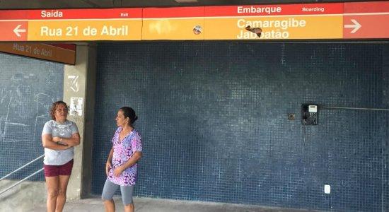 Problema na rede aérea do metrô afeta funcionamento da Linha Centro