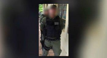 O soldado foi atingido no peito e no braço por estilhaços de bala