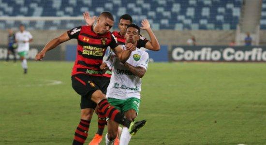 Veja os gols do empate entre Sport e Cuiabá