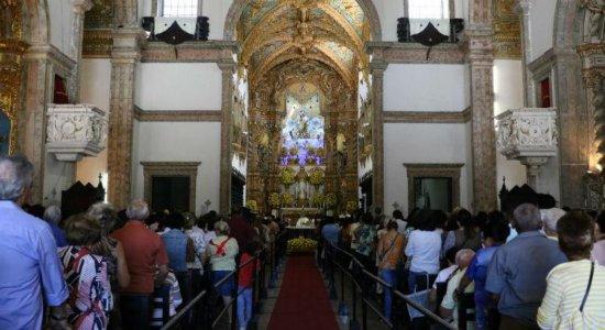 Missas no Recife na véspera do Dia de Nossa Senhora do Carmo