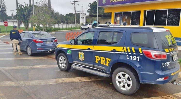 Um motorista foi detido suspeito de apropriação indébita