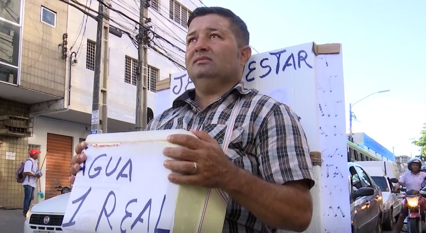 José Carlos de Lira tem cinco filhos e precisa de um emprego
