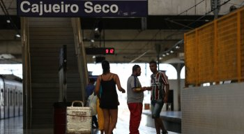 Metrô em Jaboatão está com falta de trens