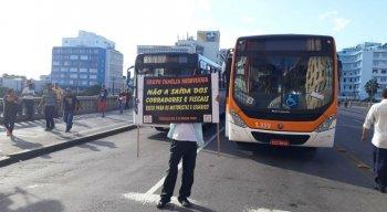 Protesto de rodoviários acontece nesta quarta-feira (17)