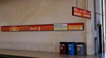 As estações da linha Centro estão fechadas