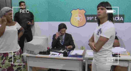 Integrante da Turma do Barra vai parar na Delegacia do É Pau