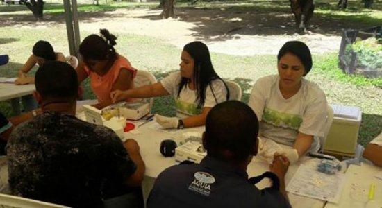 Mutirão de prevenção às hepatites virais noParque da Jaqueira