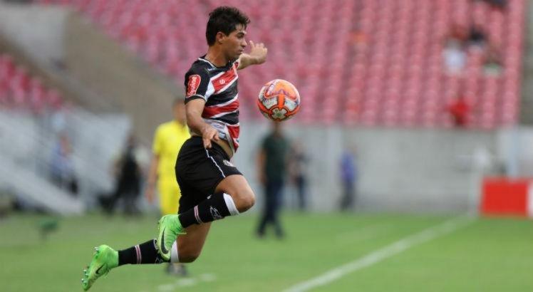 Marcos Martins informa ao Santa Cruz que recebeu proposta da Série B