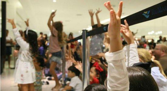 Férias tem programação para todas as idades no RioMar Recife