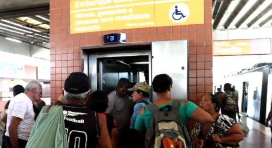 População reclama da falta de segurança e acessibilidade no Metrô