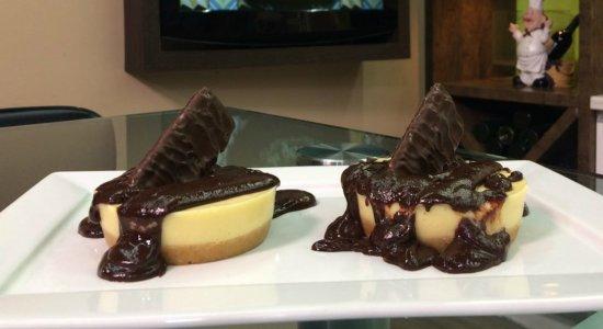 Aprenda a fazer Tortinhas de Baunilha e Chocolate