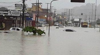 A chuva cai no Grande Recife desde a tarde dessa terça-feira (23)