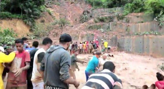 Deslizamento de barreira em Abreu e Lima deixa mortos