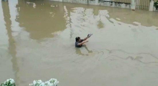 Confira como está a situação do Grande Recife por causa da chuva