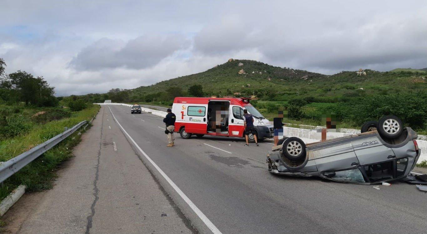 Acidente aconteceu nas proximidades do distrito de Lajes, em Caruaru