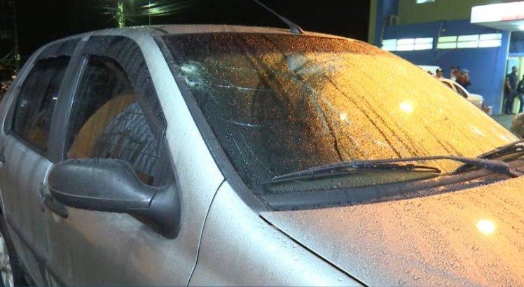 Policial ficou ferido após tentativa de assalto