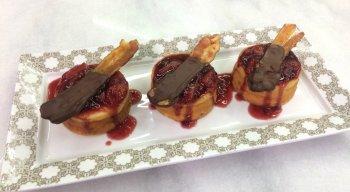Tortinhas de Queijo com Bacon