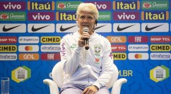 Nova treinadora da Seleção Feminina foi apresentada hoje na sede da CBF