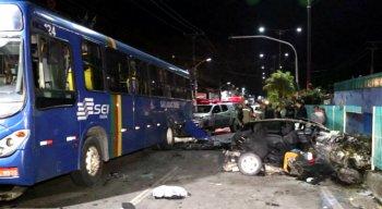 O acidente aconteceu na BR-101