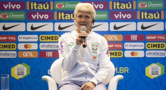 Pia Sundhage, nova técnica do Brasil, diz que Marta tem o coração no futebol