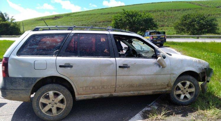 Carro que teria sido usado pelos suspeitos foi encontrado em Botafogo