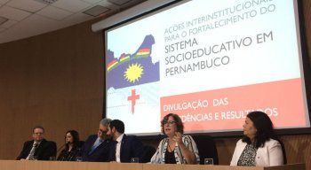 Nesta quarta-feira (31), em entrevista coletiva promovida pelo Tribunal de Justiça de Pernambuco (TJPE).