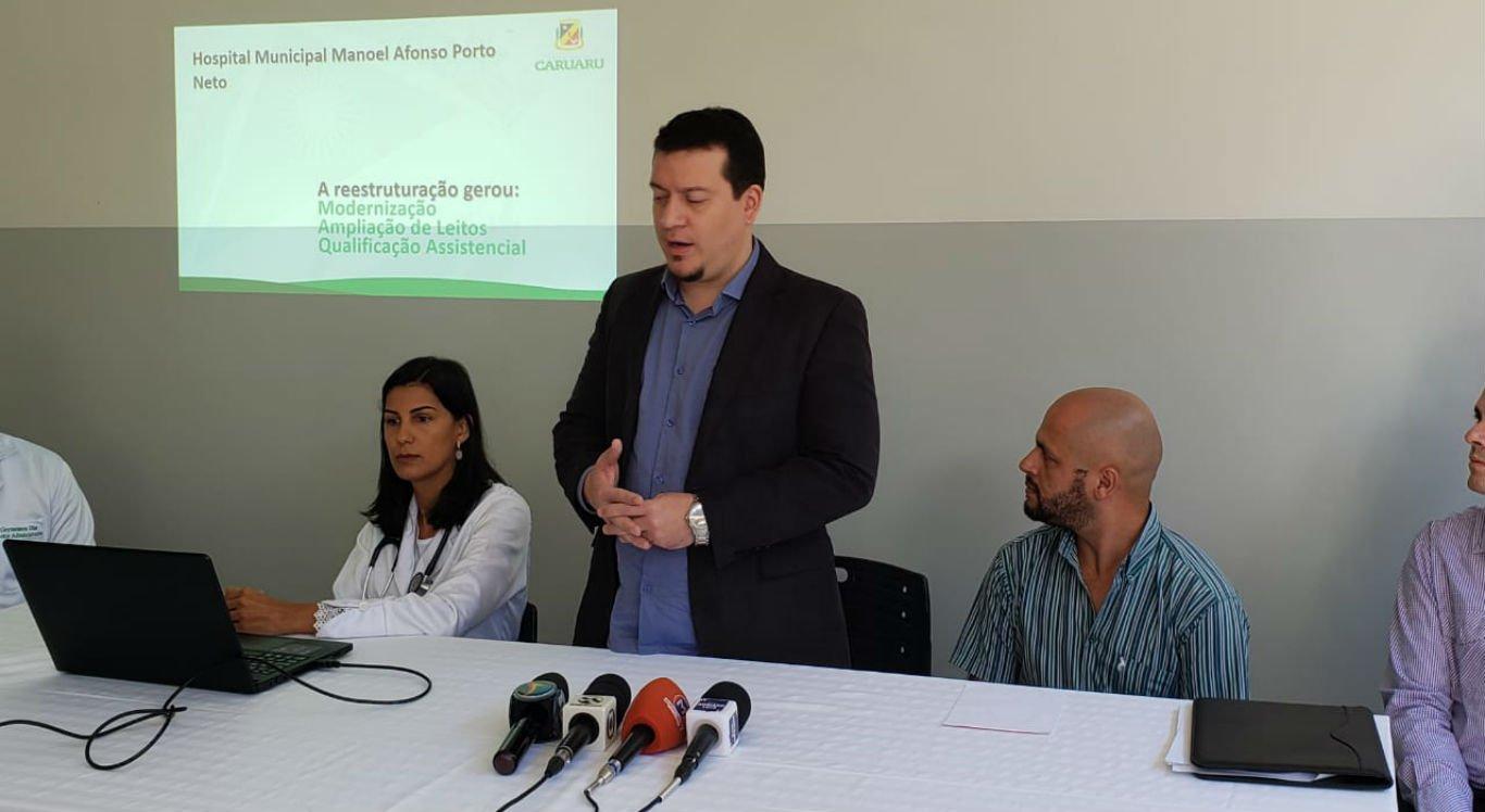 Detalhes sobre a mudança foram divulgadas em coletiva de imprensa pela Secretaria de Saúde