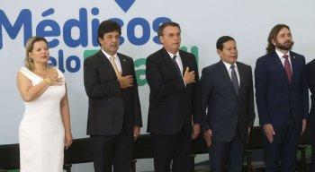 Lançamento do programa Médicos pelo Brasil, no Palácio do Planalto, ocorreu nesta quinta-feira (1º)