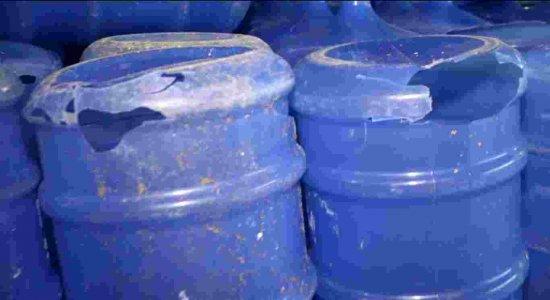 Exclusivo: botijões de água estão sendo feitos com material errado
