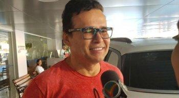 Almir Rouche seguirá acompanhado e em três meses irá passar por exames.