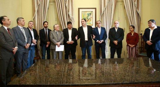 Governo assinou protocolo de intenções com a empresa no Palácio do Campo das Princesas