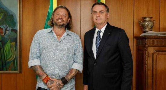 Bolsonaro anuncia Richard Rasmussen como embaixador do Turismo