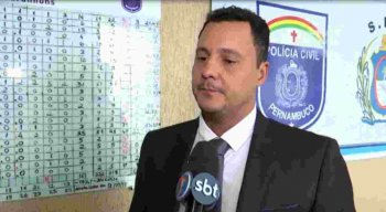 Delegado concedeu entrevista à TV Jornal Caruaru.