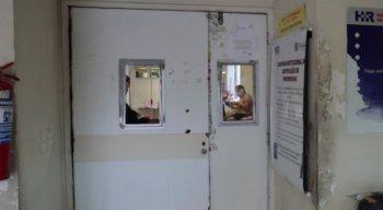 A vítima foi levada para o Hospital da Restauração