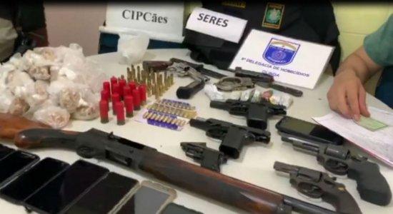 Operação da Polícia Civil prende quadrilha no bairro de Peixinhos