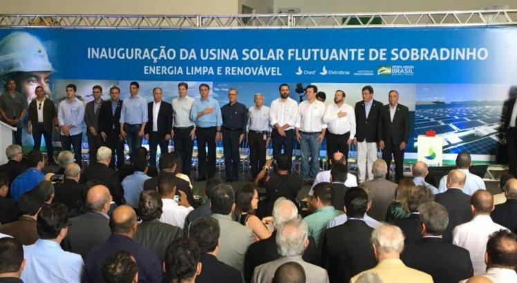 Evento contou com a participação do presidente Jair Bolsonaro