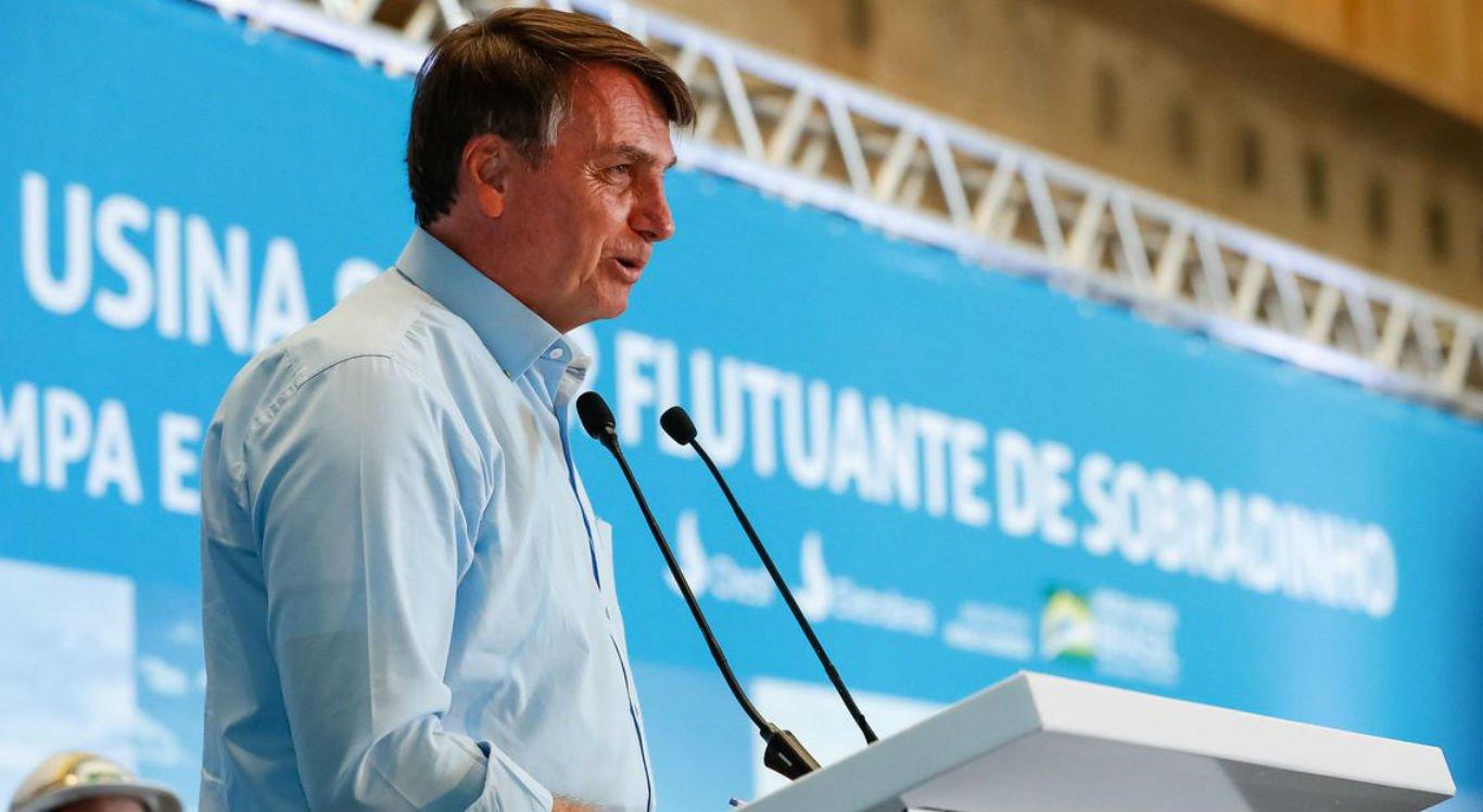 Presidente Jair Bolsonaro participou da solenidade de inauguração