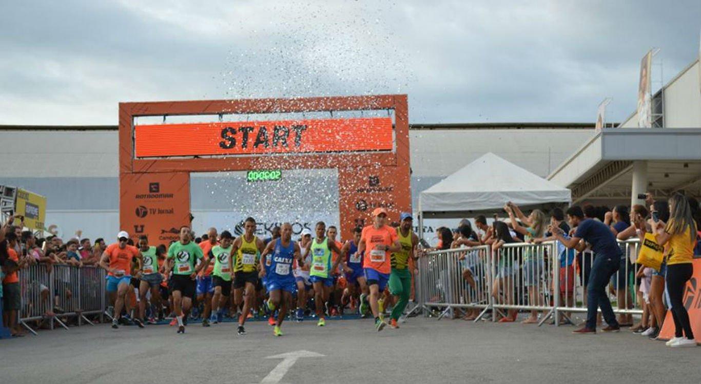 Esta é a quarta edição da corrida Rota do Mar Running