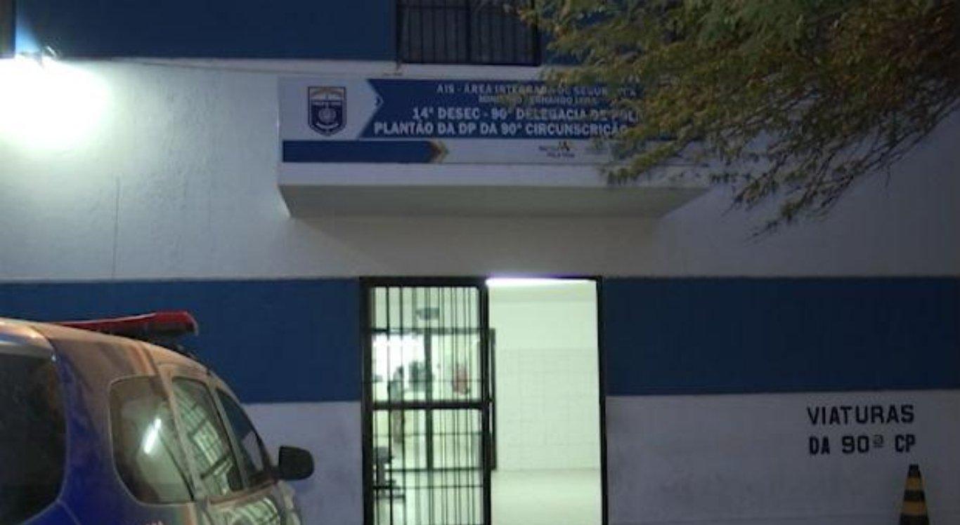 Família prestou depoimento na Delegacia de Polícia Civil