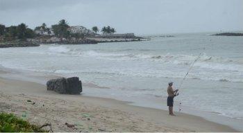 Praia de Del Chifre está localizada no bairro Santa Tereza, em Olinda