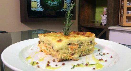 Aprenda a fazer Torta Especial de Maionese e Legumes