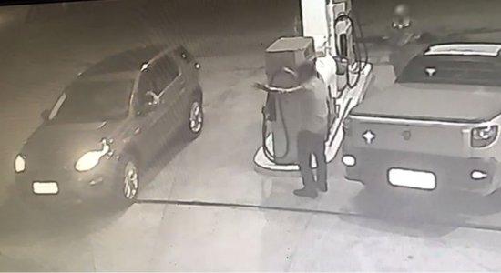 Vídeo: dono de posto tenta matar outro por causa de preços