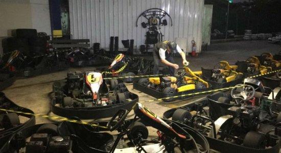 Procon interdita espaço para corrida de kart na Torre