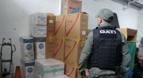 Polícia Federal apreende 530 mil cigarros em Caruaru