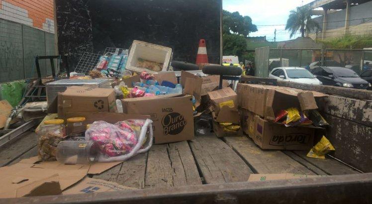 A operação visava regularizar o comércio ilegal de ambulantes