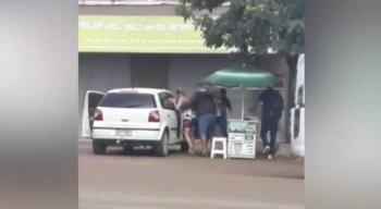 O vídeo foi gravado em Vitória de Santo Antão, na Zona da Mata de Pernambuco