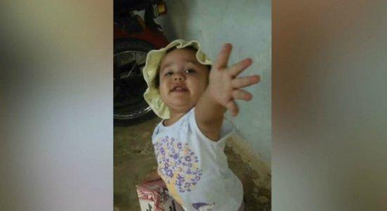 Menina de 3 anos morre vítima de bala perdida no Grande Recife